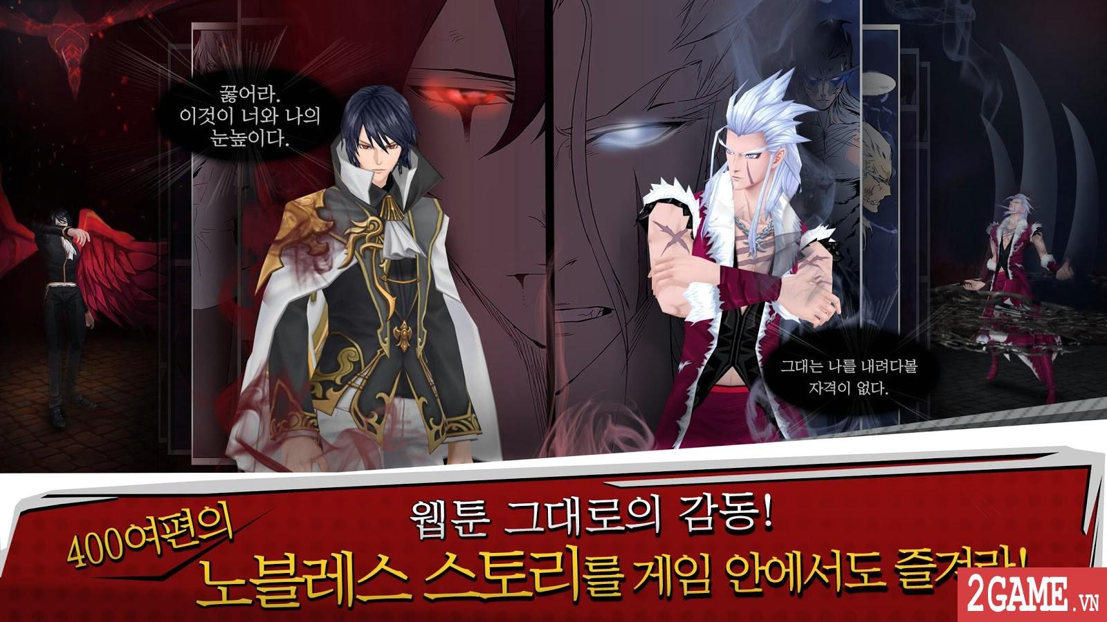 Noblesse - Game nhập vai đánh theo lượt phỏng dựng theo nguyên bản bộ truyện tranh nổi tiếng cùng tên 1