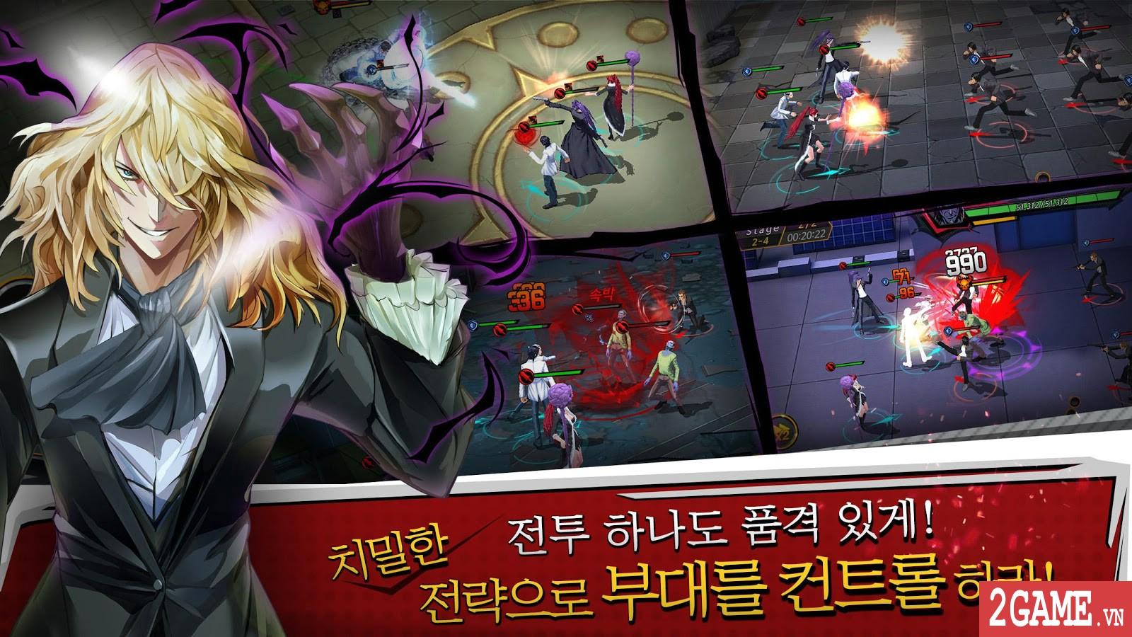Noblesse - Game nhập vai đánh theo lượt phỏng dựng theo nguyên bản bộ truyện tranh nổi tiếng cùng tên 2