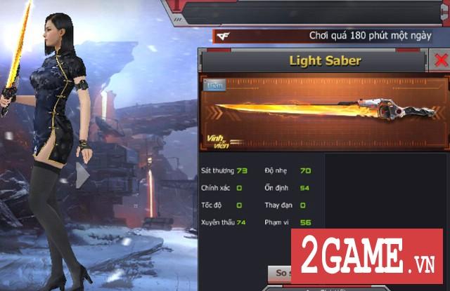 Crossfire Legends - Nạp gem tích lũy nhận Light Saber vĩnh viễn 2