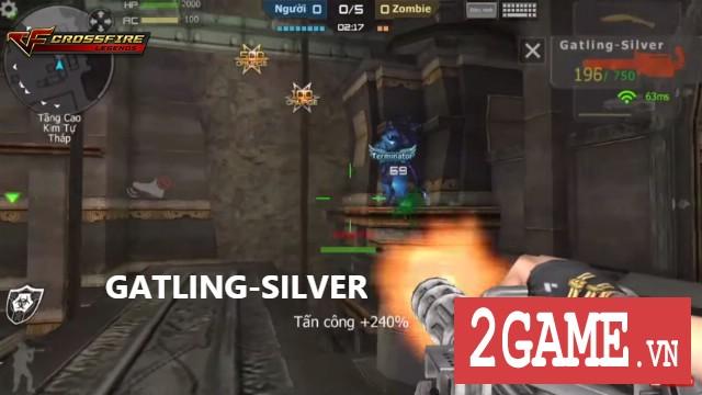 Crossfire Legends - Chơi game gom mảnh ghép Gatling-Silver 0