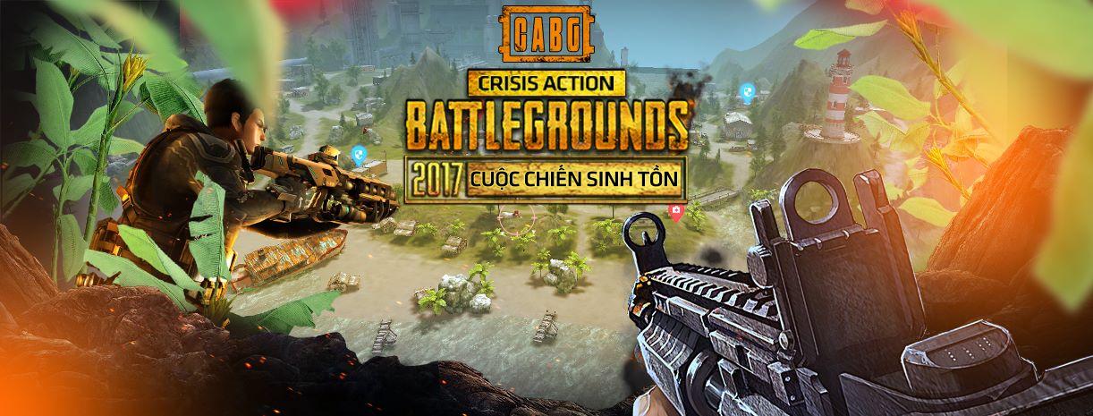 Crisis Action's Battlegrounds: Game giống PUGB cập bến Việt Nam 3
