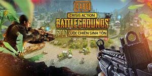 Crisis Action's Battlegrounds: Game giống PUGB cập bến Việt Nam