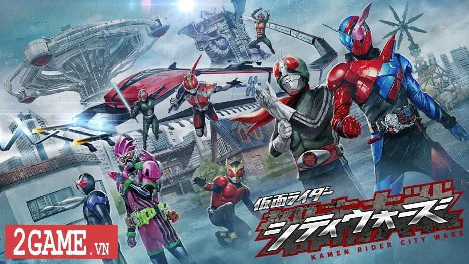 Kamen Rider: Climax Fighters - Game về Siêu nhân Phi Long bất ngờ đổ bộ lên nền tảng di động 0