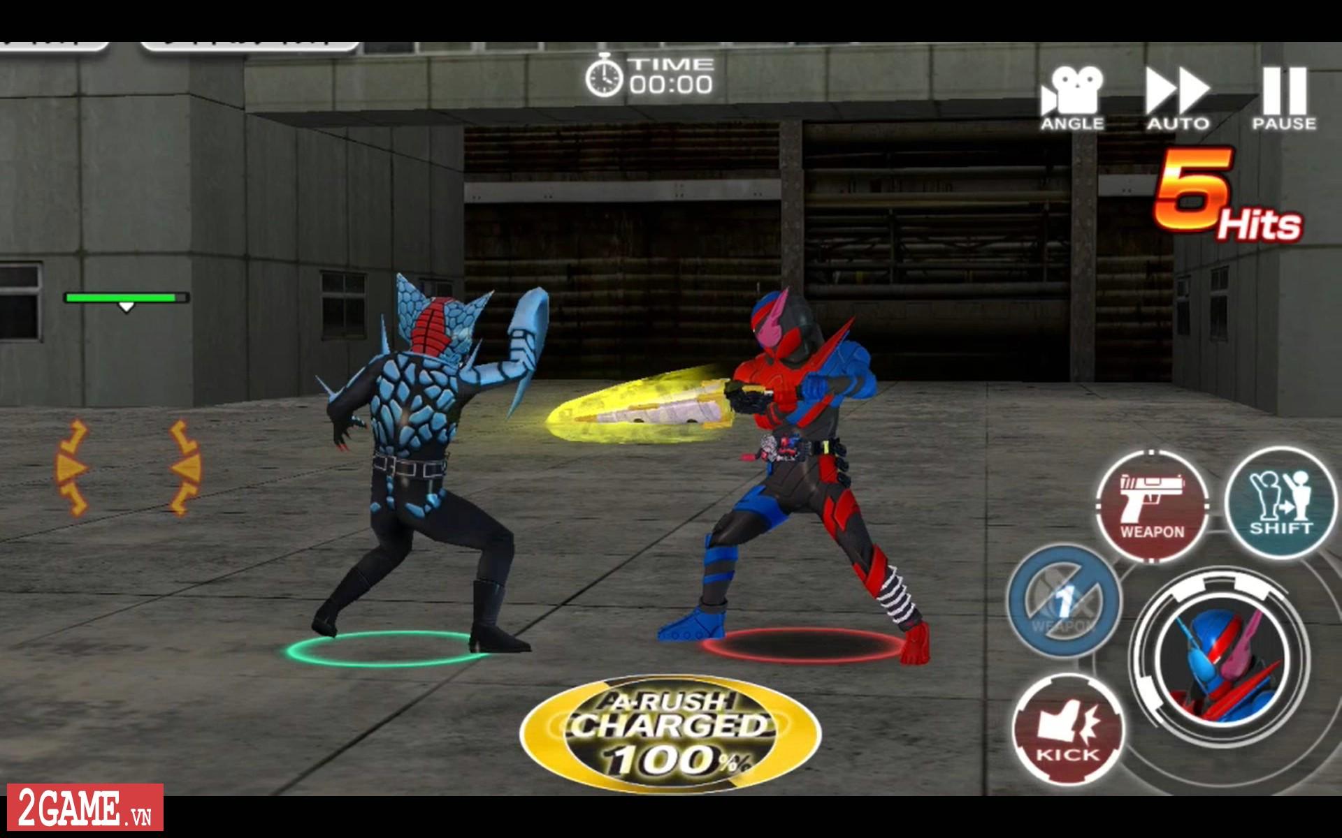 Kamen Rider: Climax Fighters - Game về Siêu nhân Phi Long bất ngờ đổ bộ lên nền tảng di động 2