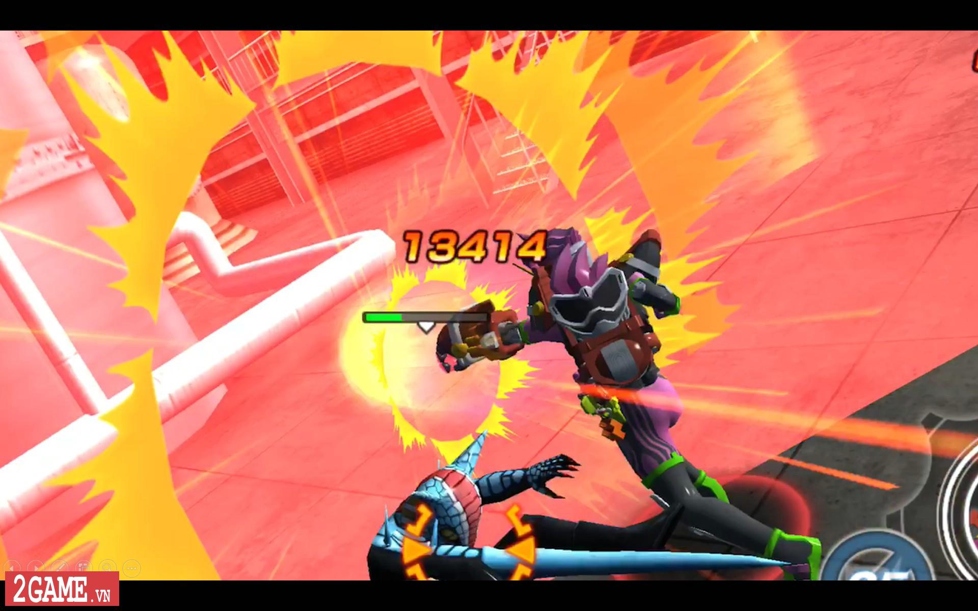 Kamen Rider: Climax Fighters - Game về Siêu nhân Phi Long bất ngờ đổ bộ lên nền tảng di động 3