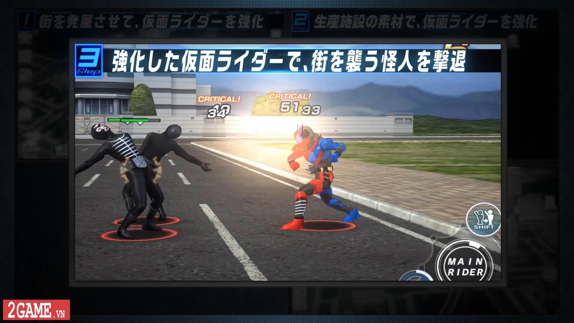 Kamen Rider: Climax Fighters - Game về Siêu nhân Phi Long bất ngờ đổ bộ lên nền tảng di động 5