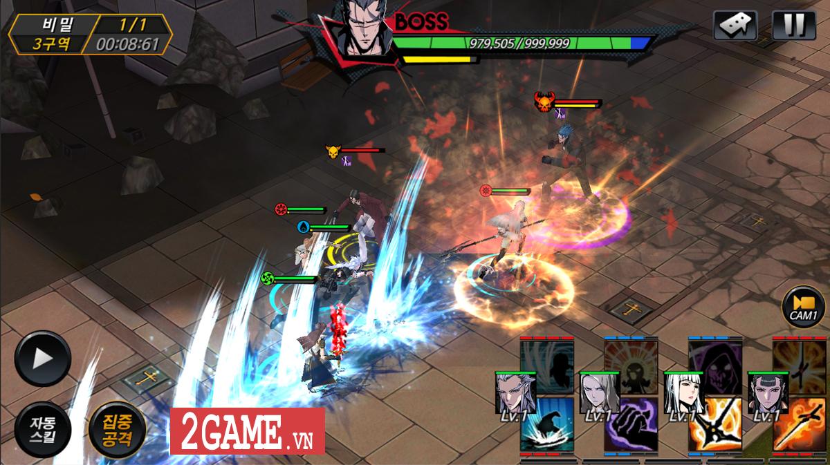 Noblesse - Game nhập vai đánh theo lượt phỏng dựng theo nguyên bản bộ truyện tranh nổi tiếng cùng tên 5