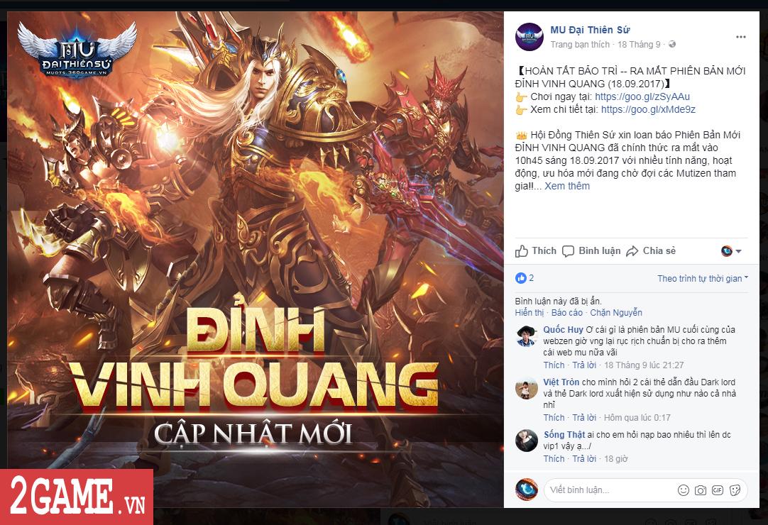 MU Online WEB ra mắt khiến nhiều game thủ MU Đại Thiên Sứ lo sợ 4
