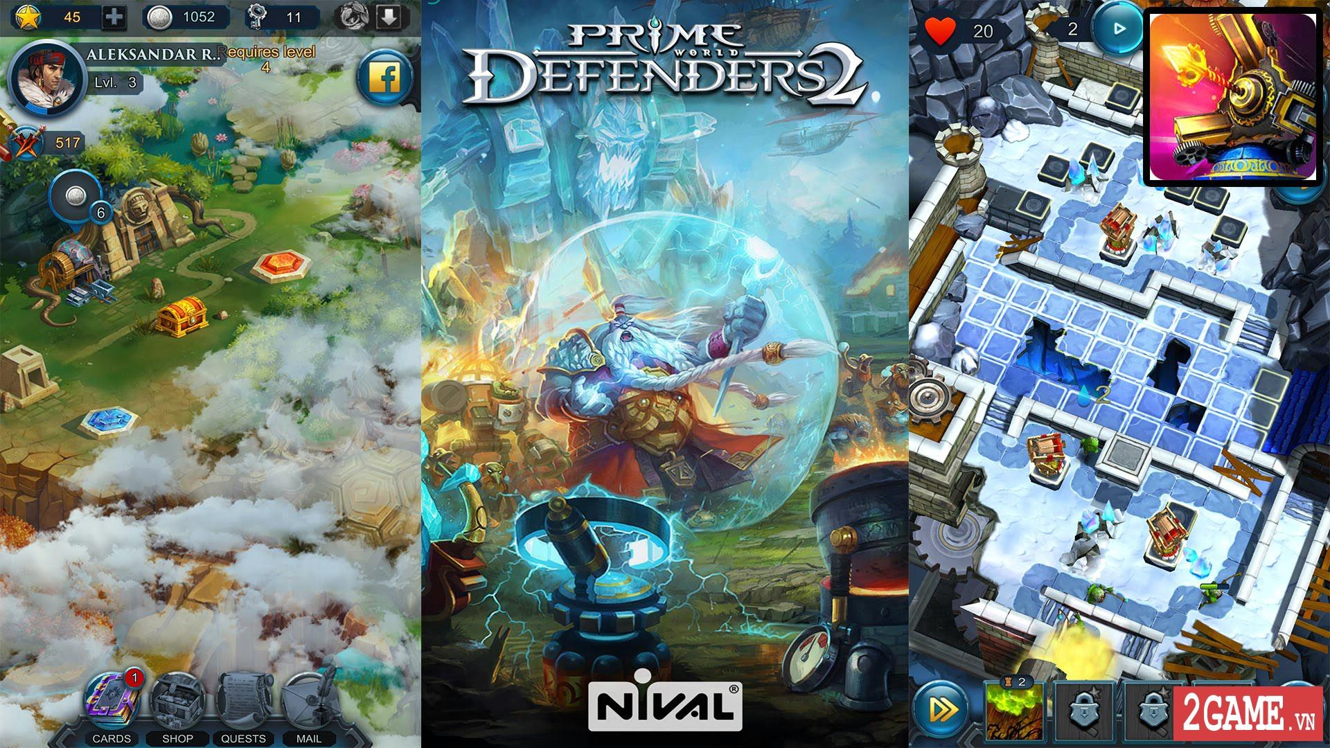 Prime World : Defenders 2 – Game thủ trụ kết hợp nhập vai với lối chơi cực chất 1