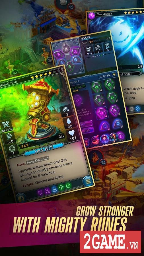 Prime World : Defenders 2 – Game thủ trụ kết hợp nhập vai với lối chơi cực chất 3