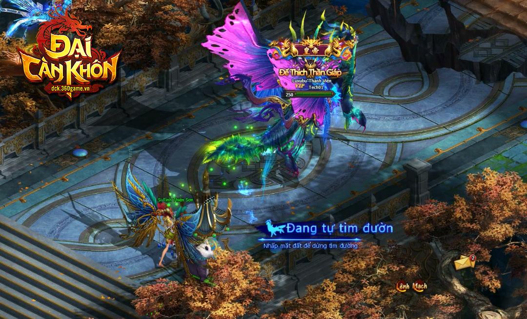 Mỗi server trong webgame Đại Càn Khôn là một quốc gia riêng biệt cho người chơi thỏa sức liên đấu 5