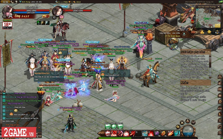 Ngạo Kiếm Vô Song 2 đưa cảm giác chơi game cùng bang hội trở lại làng game Việt 2