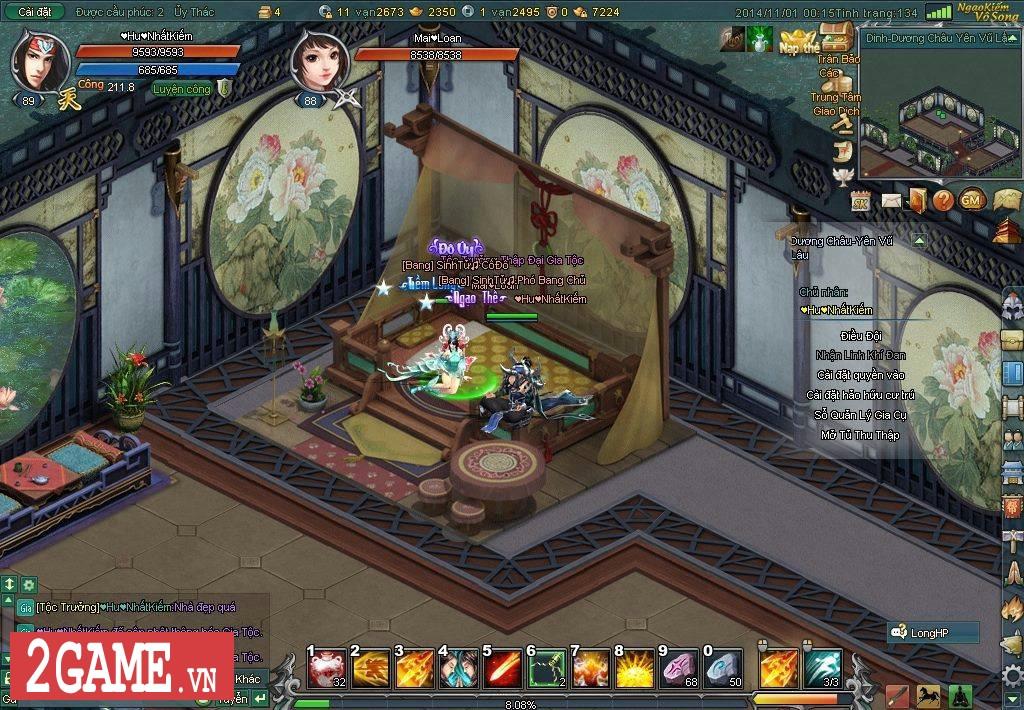 Ngạo Kiếm Vô Song 2 đưa cảm giác chơi game cùng bang hội trở lại làng game Việt 7