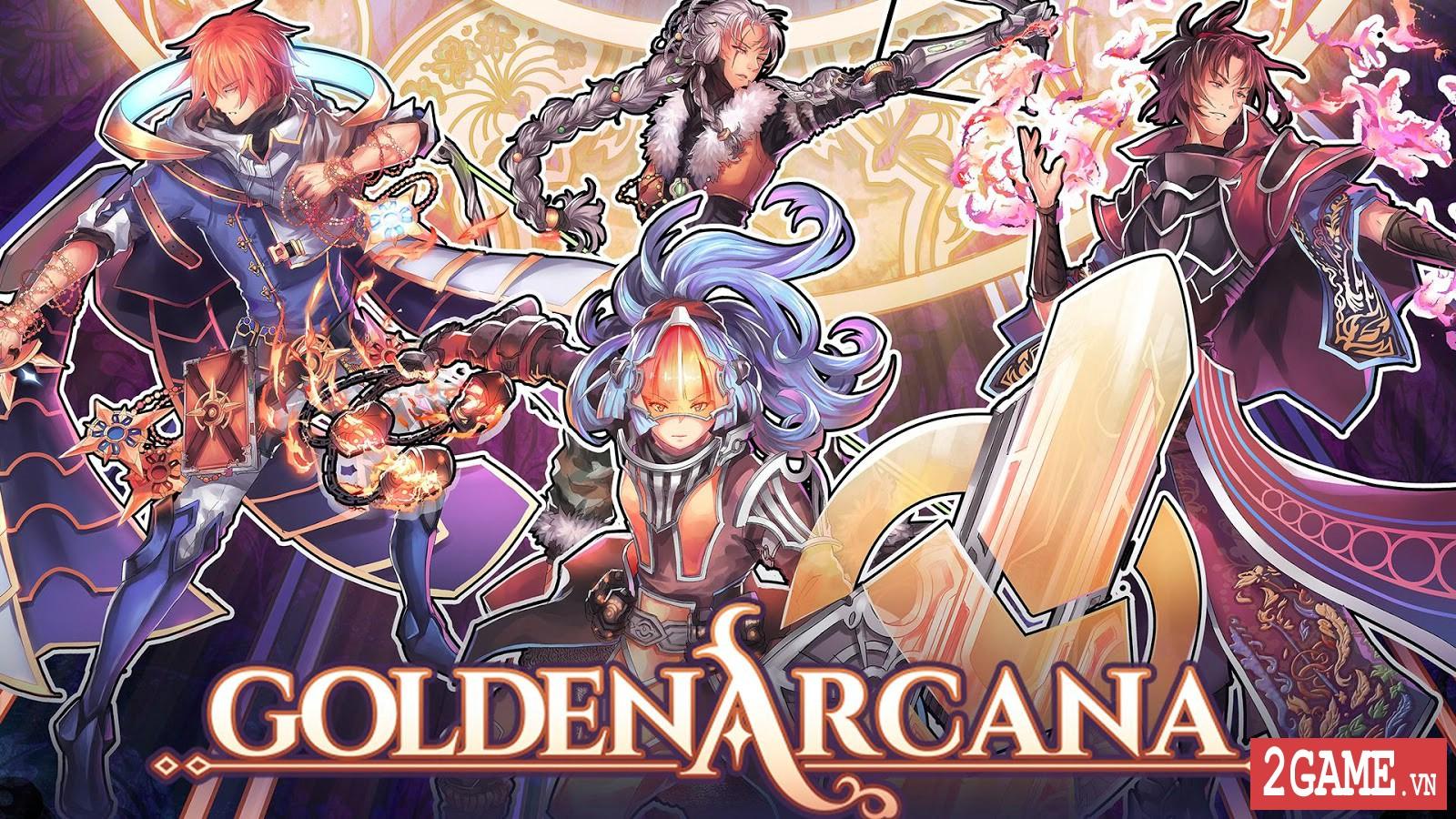 Golden Arcana: Tactics – Game đấu thẻ bài kết hợp nhập vai mang đậm phong cách anime 0