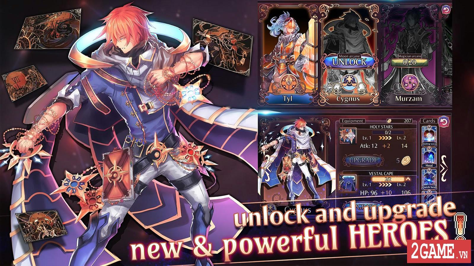Golden Arcana: Tactics – Game đấu thẻ bài kết hợp nhập vai mang đậm phong cách anime 1
