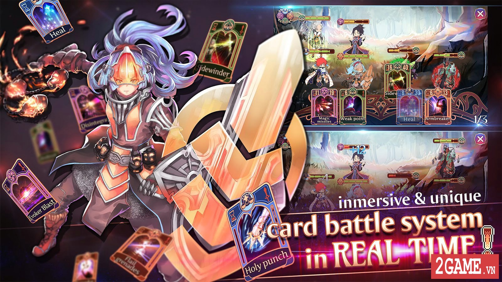 Golden Arcana: Tactics – Game đấu thẻ bài kết hợp nhập vai mang đậm phong cách anime 2