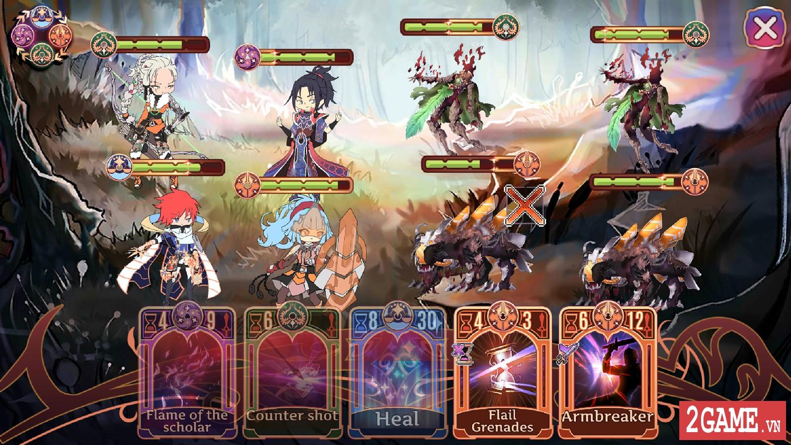 Golden Arcana: Tactics – Game đấu thẻ bài kết hợp nhập vai mang đậm phong cách anime 4