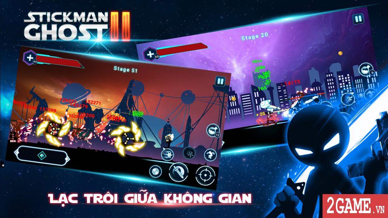 Stickman Ghost 2: Galaxy Wars – khi người que đánh chiếm vũ trụ 0