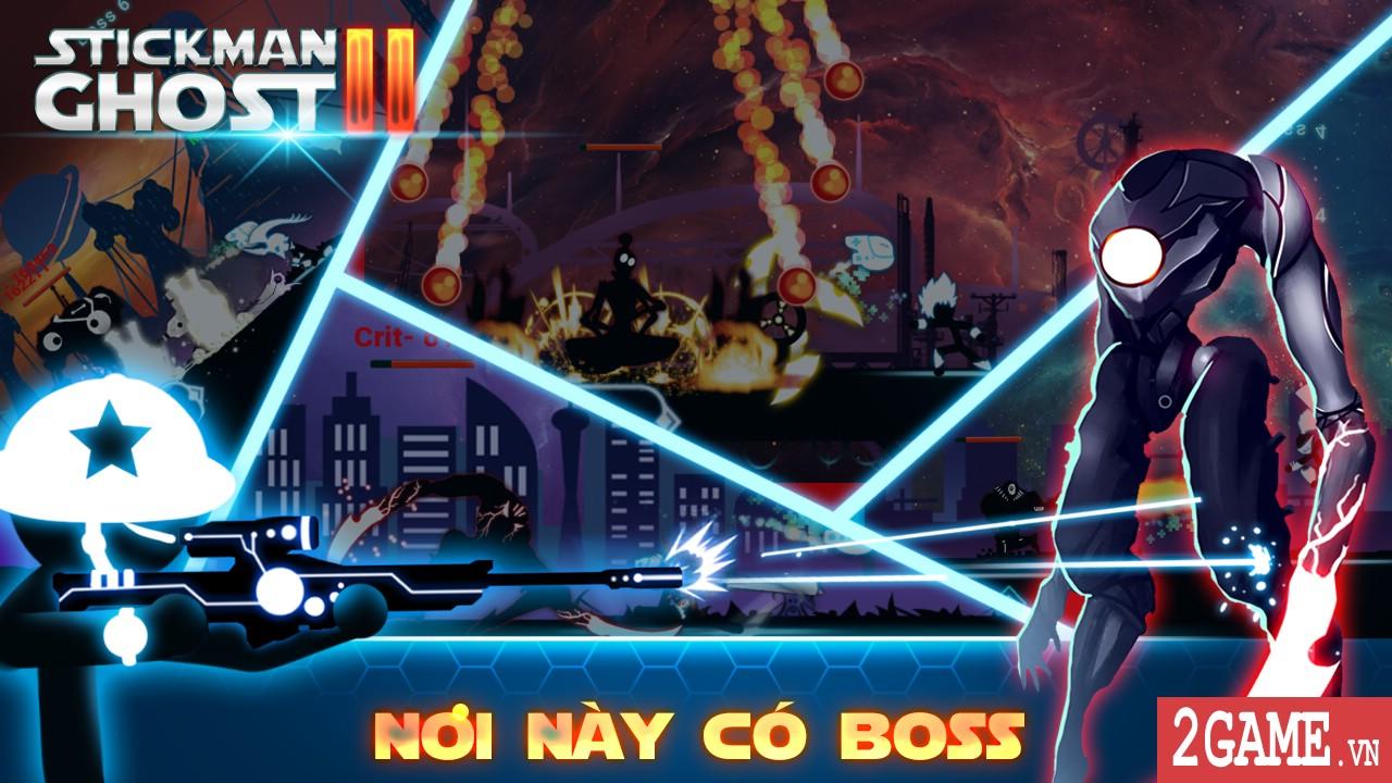 Stickman Ghost 2: Galaxy Wars – khi người que đánh chiếm vũ trụ 1