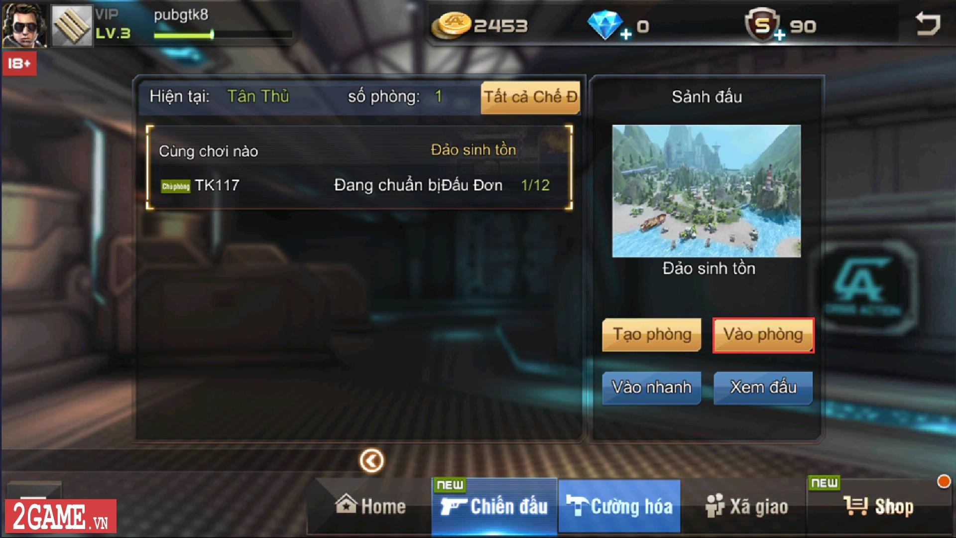 Tập Kích Mobile chính thức cho game thủ Việt chơi thử chế độ sinh tồn 0