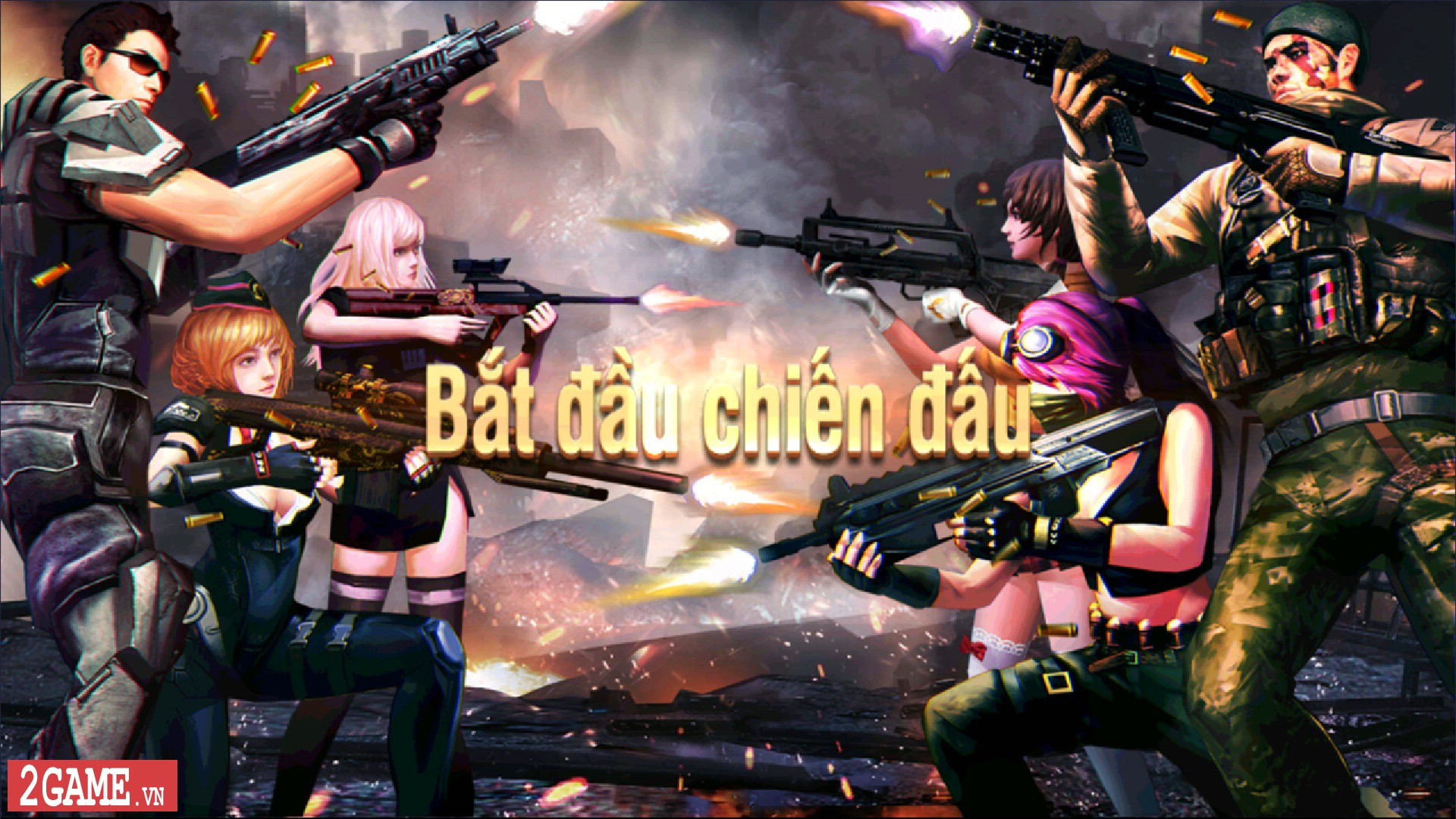 Tập Kích Mobile chính thức cho game thủ Việt chơi thử chế độ sinh tồn 5