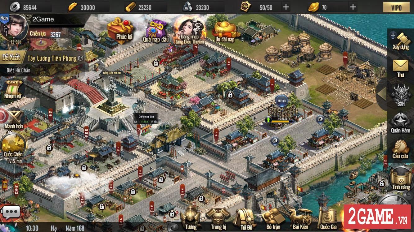 Cảm nhận Tam Quốc Truyền Kỳ Mobile: Game rất hấp dẫn với những tay đam mê thể loại chiến thuật lâu năm 1