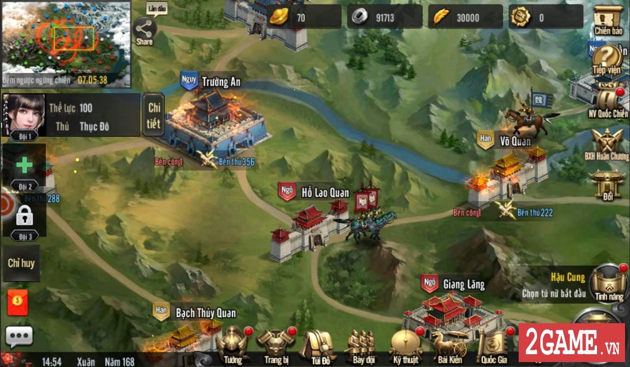Cảm nhận Tam Quốc Truyền Kỳ Mobile: Game rất hấp dẫn với những tay đam mê thể loại chiến thuật lâu năm 10