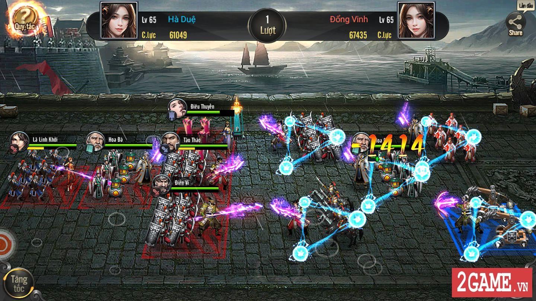 Cảm nhận Tam Quốc Truyền Kỳ Mobile: Game rất hấp dẫn với những tay đam mê thể loại chiến thuật lâu năm 7