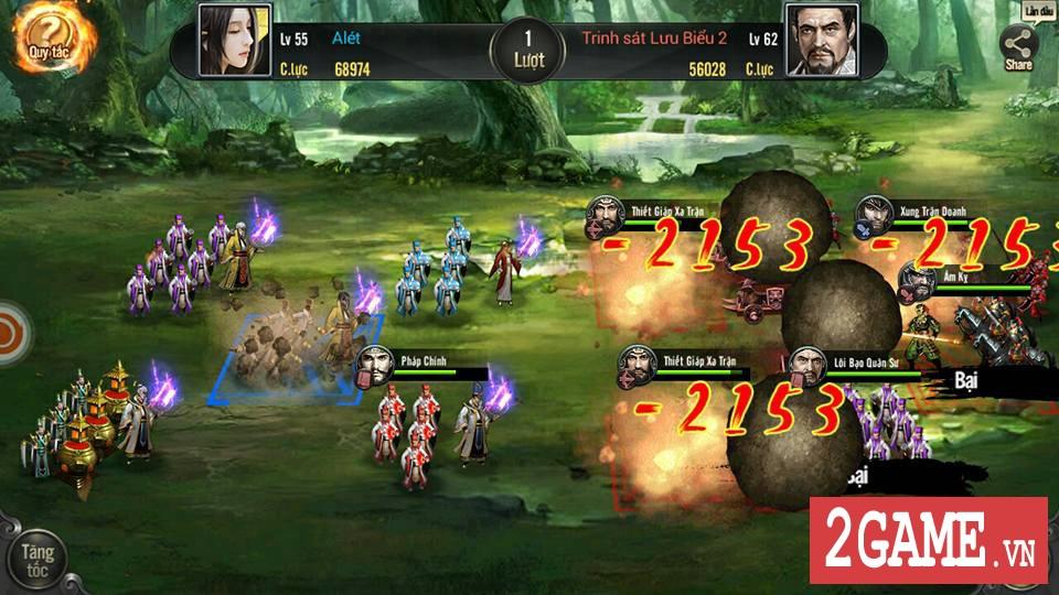 Cảm nhận Tam Quốc Truyền Kỳ Mobile: Game rất hấp dẫn với những tay đam mê thể loại chiến thuật lâu năm 15