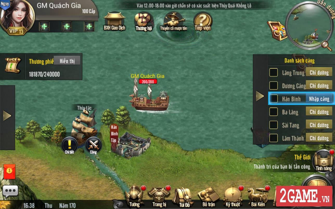 Cảm nhận Tam Quốc Truyền Kỳ Mobile: Game rất hấp dẫn với những tay đam mê thể loại chiến thuật lâu năm 17