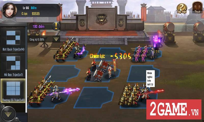 Cận cảnh Tam Quốc Truyền Kỳ Mobile trong ngày đầu Open Beta 8