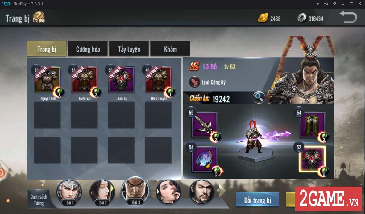 Cận cảnh Tam Quốc Truyền Kỳ Mobile trong ngày đầu Open Beta 7