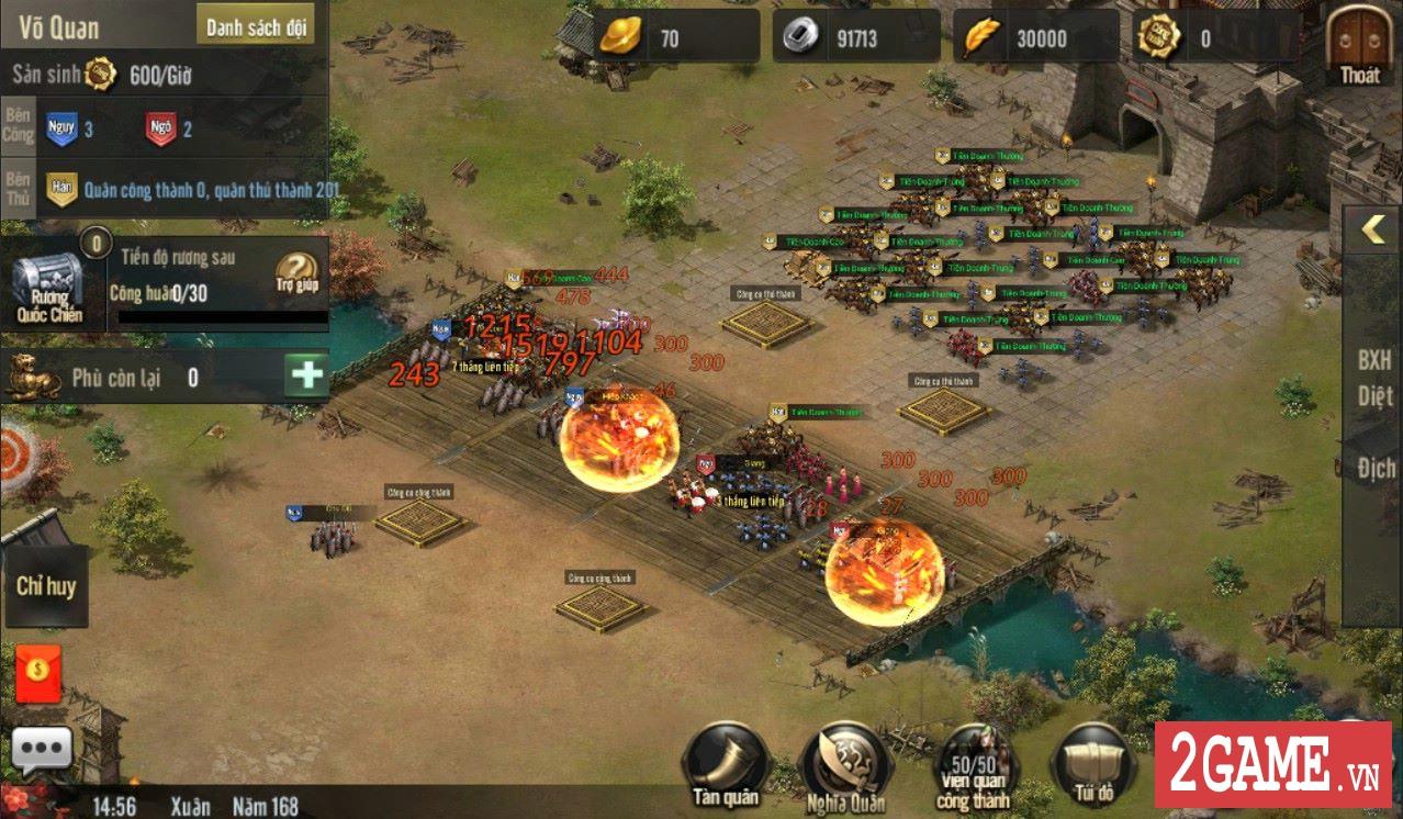 Cảm nhận Tam Quốc Truyền Kỳ Mobile: Game rất hấp dẫn với những tay đam mê thể loại chiến thuật lâu năm 2