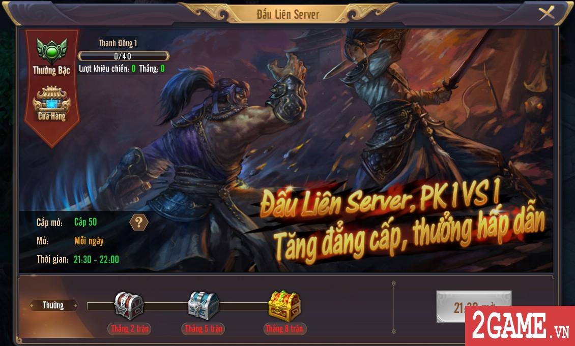 Kiếm Vũ Mobi VNG - Tính năng Đấu Liên Server 1