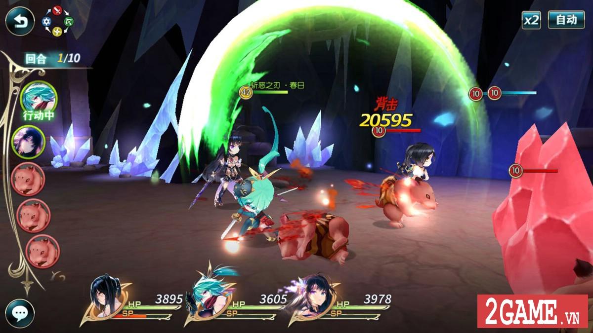 Thần Vô Nguyệt – Game nhập vai đánh theo lượt với tạo hình nhân vật đầu to siêu vui nhộn 5