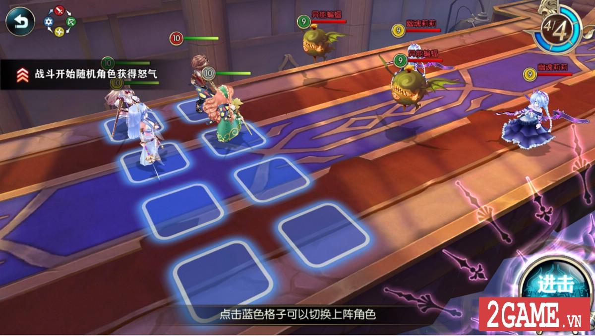 Thần Vô Nguyệt – Game nhập vai đánh theo lượt với tạo hình nhân vật đầu to siêu vui nhộn 3