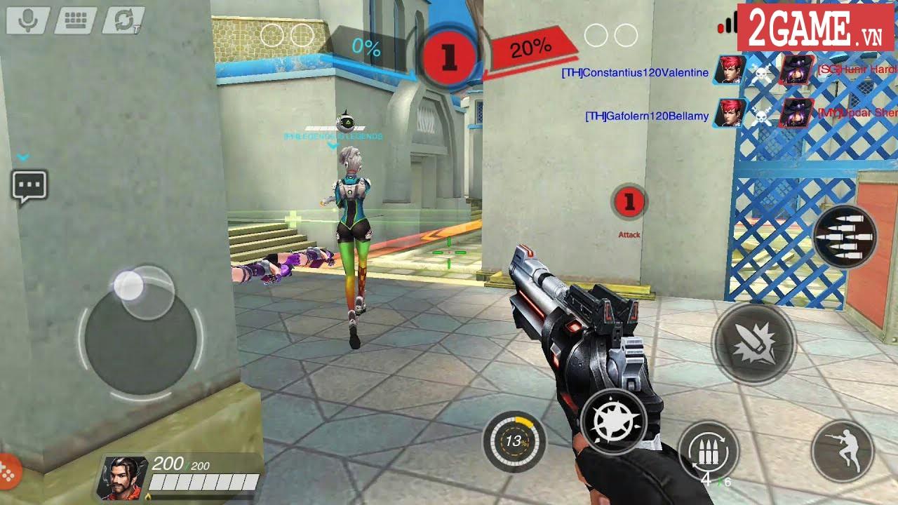 Trải nghiệm Heroes of Warfare: FPS MOBA được mệnh danh là Overwatch trên nền tảng di động 6