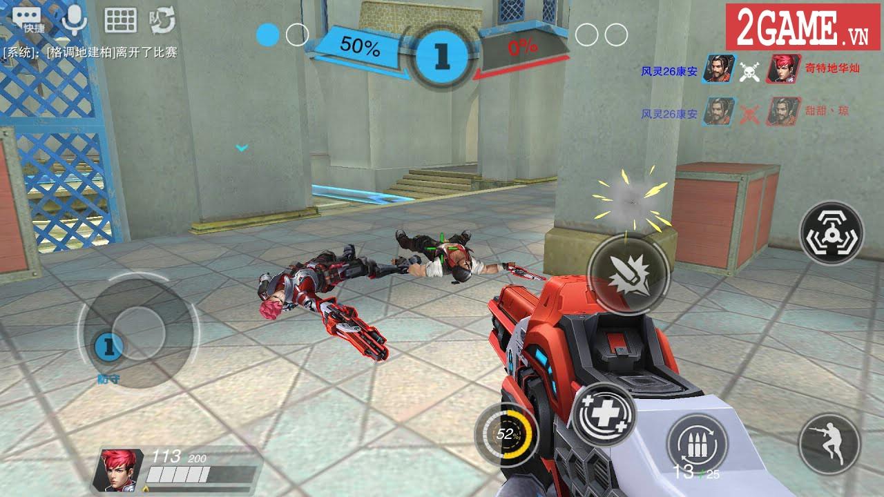 Trải nghiệm Heroes of Warfare: FPS MOBA được mệnh danh là Overwatch trên nền tảng di động 8