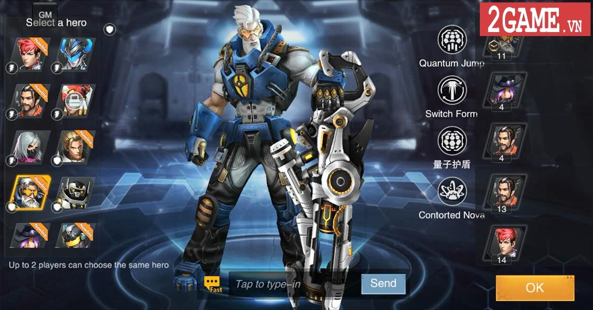 Trải nghiệm Heroes of Warfare: FPS MOBA được mệnh danh là Overwatch trên nền tảng di động 5