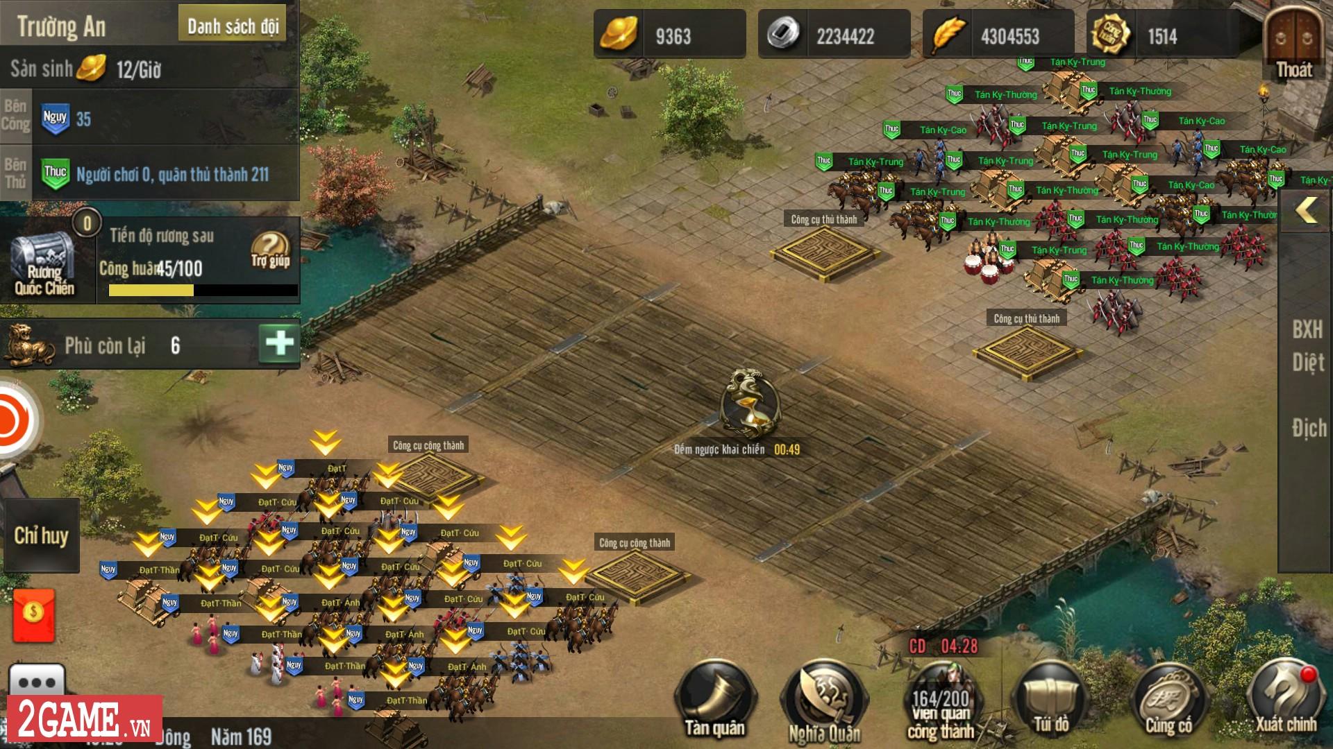 Đã có thể tải trước game mobile chiến thuật kinh điển Tam Quốc Truyền Kỳ Mobile 2