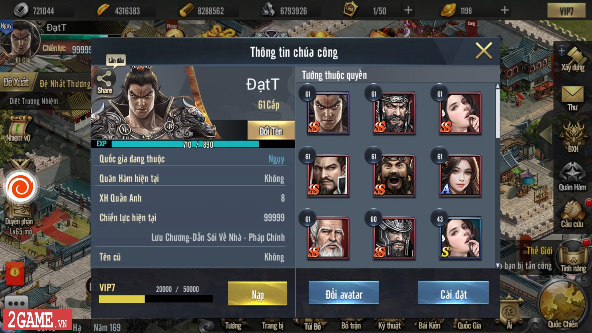 Cận cảnh Tam Quốc Truyền Kỳ Mobile trong ngày đầu Open Beta 4