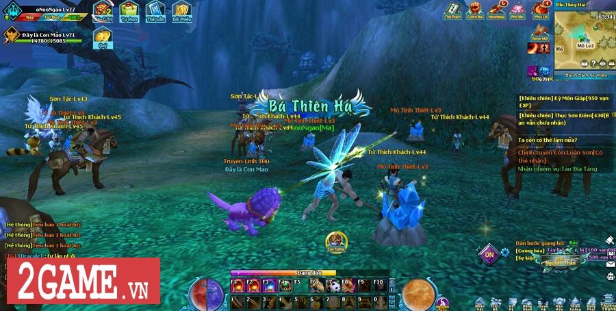 Ngũ Thần Online cho người chơi tự do luyện cấp săn đồ thả cửa 3