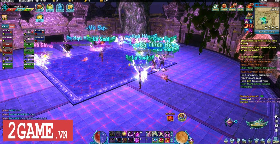 Ngũ Thần Online cho người chơi tự do luyện cấp săn đồ thả cửa 5