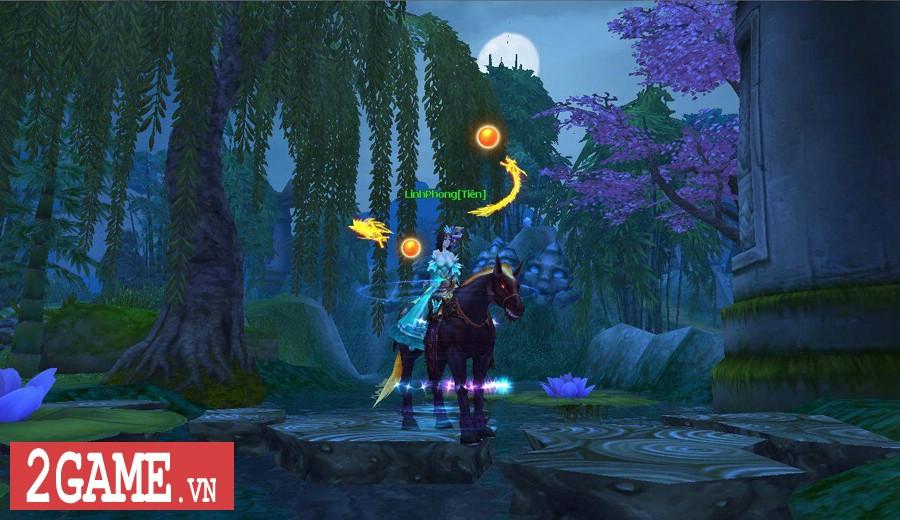 Ngũ Thần Online cho người chơi tự do luyện cấp săn đồ thả cửa 4