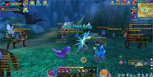 Ngũ Thần Online cho người chơi tự do luyện cấp săn đồ thả cửa