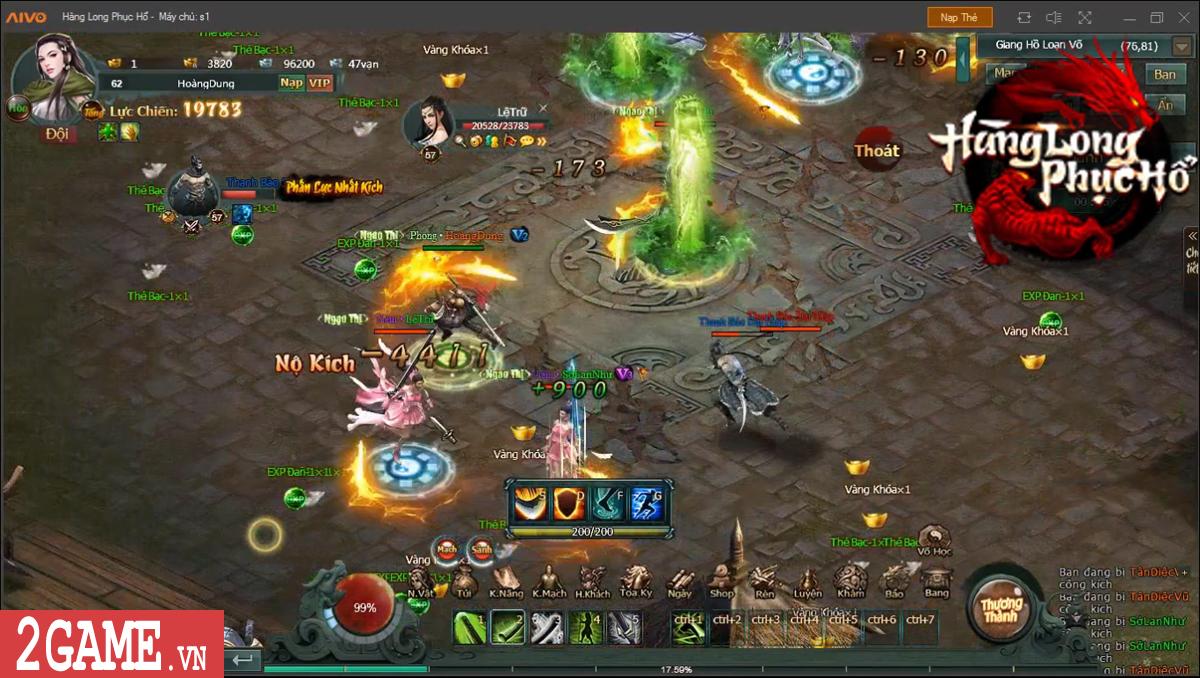 Game Hàng Long Phục Hổ cũng có hẳn một bản đồ chơi theo kiểu sinh tử chiến đầy máu lửa 3