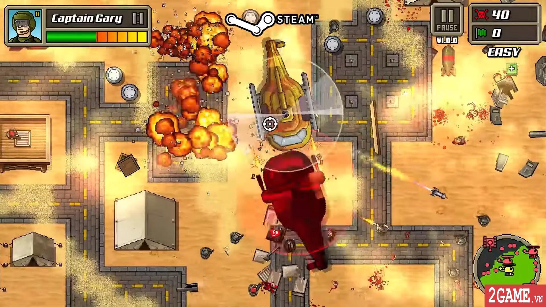 Kick Ass Commandos – Game nhập vai đi cảnh với đồ họa siêu lầy lội 4