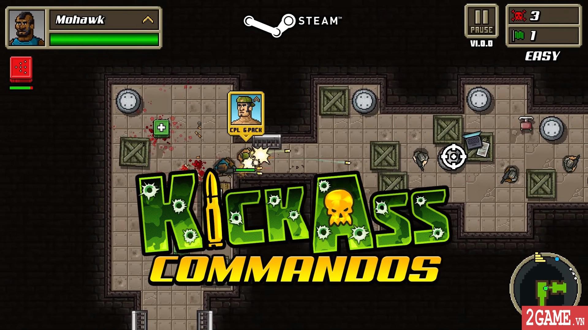 Kick Ass Commandos – Game nhập vai đi cảnh với đồ họa siêu lầy lội 0