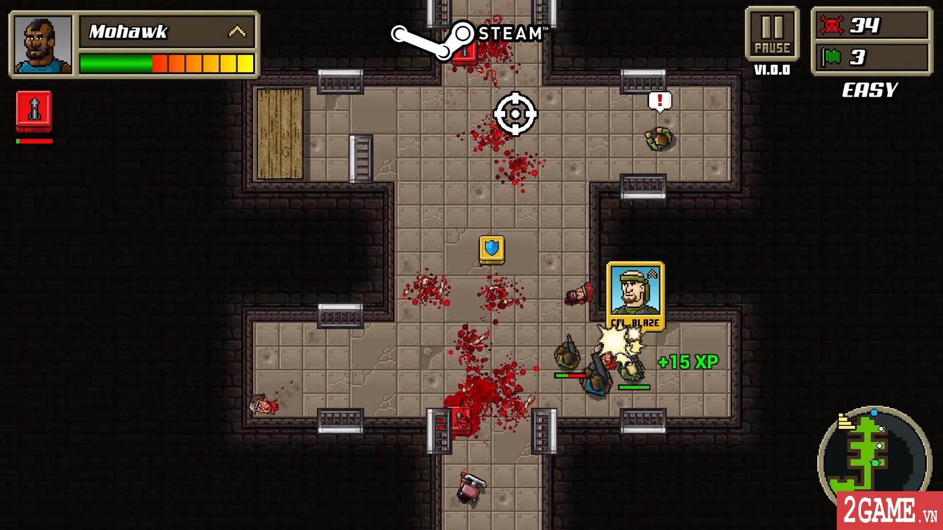 Kick Ass Commandos – Game nhập vai đi cảnh với đồ họa siêu lầy lội 2