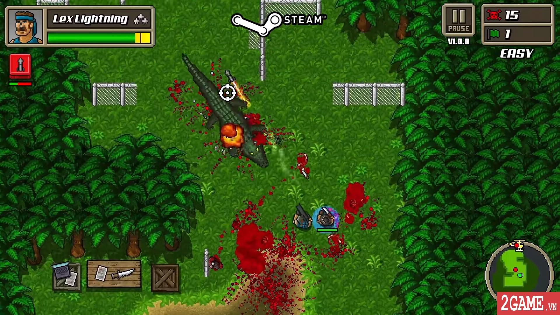 Kick Ass Commandos – Game nhập vai đi cảnh với đồ họa siêu lầy lội 3